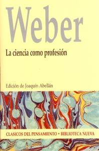 ciencia como profesión