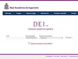 Diccionario Español de Ingeniería